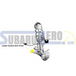 Buje interno inferior frontal W0506 WHITELINE - Impreza-Forester-Legacy 2008-14