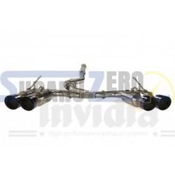 Silencioso e intermedio Invidia Gemini R400 - Impreza STI sedan 2010-19