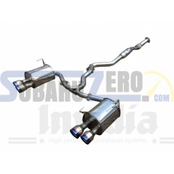 Silencioso e intermedio Invidia Q300 - Impreza STI sedan 2010-19