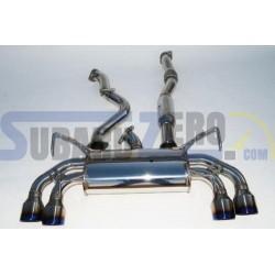 Silencioso e intermedio Invidia Q300 - Impreza WRX/STI hatchback 2008-14