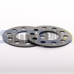 Separadores simples de 3 y 5mm 5x100/112 (57,1) Japan Racing - Audi, Chrysler, Ford,...
