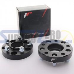 Separadores doble fijación doble centraje de 15,20,25,30mm 5x100 (56,1) Japan Racing -...