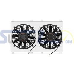Kit electro ventiladores MISHIMOTO - Impreza turbo GD8 93-00, Legacy turbo BC/BF 90-94