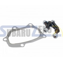 Junta con tornillos downpipe single scroll Subaru OEM - Impreza 92-19, Forester 98-08,...