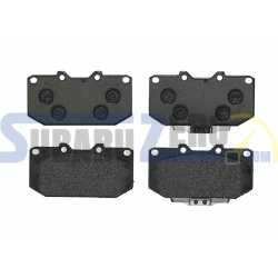 Pastillas de freno delanteras Brembo Sport HP2000 - Impreza turbo 98-00, WRX 01-07,...