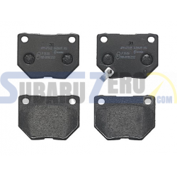 Pastillas de freno traseras Brembo Sport HP2000 - Impreza turbo 98-00, WRX 01-14,...
