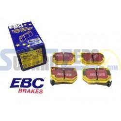Pastillas de freno traseras EBC amarillas - Impreza turbo 98-00, WRX 01-14, Nissan...