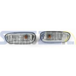 Intermitentes delanteros aletas laterales cristal blanco - Impreza 1992-00
