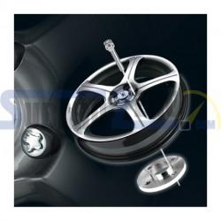 4 Tornillos largos antirrobo 14x1,5 - Audi, BMW, Citroën, Fiat, Ford, Lancia, Maserati,...