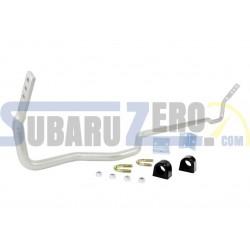 Barra estabilizadora trasera 22mm WHITELINE - Subaru Forester SG 2002-08