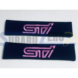 Cojines de hombro logo STI - Subaru