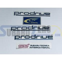 Kit de pegatinas - Subaru