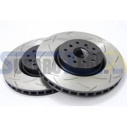 Discos de freno delanteros DBA 4000 T3 - Subaru Impreza STI 2001-17
