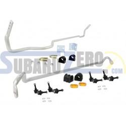 Kit barras estabilizadoras 22mm WHITELINE - Subaru Forester SG Turbo 2002-08