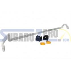 Barra estabilizadora delantera ajustable 22mm WHITELINE - Impreza WRX/STI 2001-07,...
