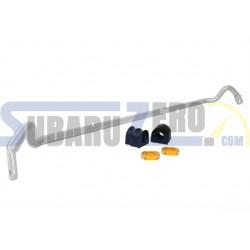 Barra estabilizadora delantera 24mm WHITELINE - Impreza WRX/STI 2001-07,  Forester SG...