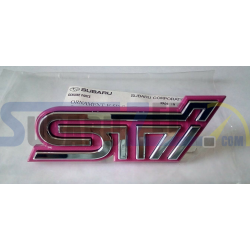 Emblema rejilla delantera STI OEM - Subaru Impreza WRX/STI 2001-05