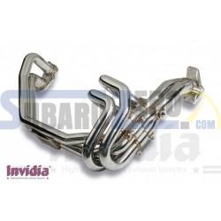 Colectores single scroll equal Invidia - Impreza WRX/STI 2001-07