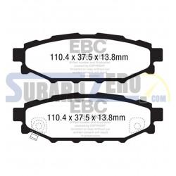 Pastillas de freno traseras Ultimax EBC - Impreza 1.5r, 2.0r, Diesel 2008-14, BRZ/GT86...