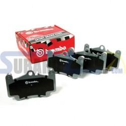 Pastillas de freno traseras Brembo HP2000 - Seat Ateca Cupra, Audi S3/TT, RS3,