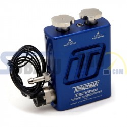 Controlador de impulso doble etapa manual azul Turbosmart - Universal