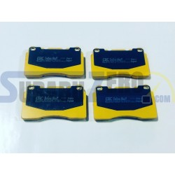 Pastillas de freno delanteras EBC Amarillas - Impreza STI 2001-17, Alfa Romeo 147,...