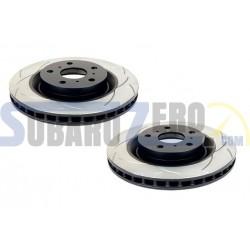 Discos de freno traseros DBA - Subaru Impreza WRX 2001-07, Legacy 1999-10