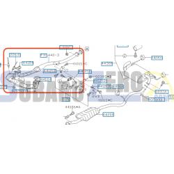 Colectores con catalizadores deportivos Don Silencioso - Impreza hatchback 2.0r 08-14