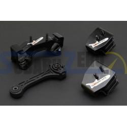 Kit soportes de transmisión 6 velocidades HARDRACE - Impreza 2001-14, Forester 09-13 y...