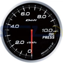 Medidor presión de aceite 60MM DEFI ADVANCE BF - Universal