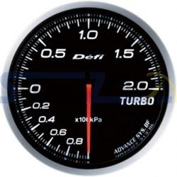 Medidor presión de turbo 60MM DEFI ADVANCE BF - Universal