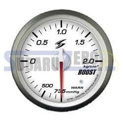 Medidor 52MM fondo blanco presión Turbo Stri DSD - Universal