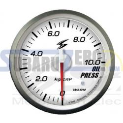 Medidor 52MM fondo blanco presión aceite Stri DSD - Universal