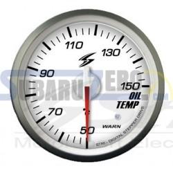 Medidor 52MM fondo blanco temperatura aceite Stri DSD - Universal