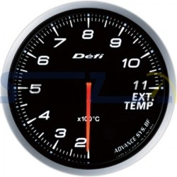 Medidor temperatura de escape 60MM DEFI ADVANCE BF - Universal