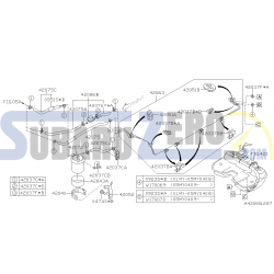 Tubo Abrazadera fijador linea de combustible 42037FE000 OEM - Subaru Impreza 2001-07
