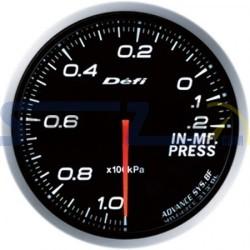 Medidor presión de colectores 60MM DEFI ADVANCE BF - Universal