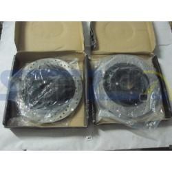 Discos de freno traseros STOPTECH - Subaru Impreza STI 2005-07